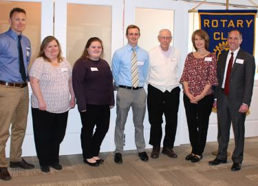 April Rotary Seniors of the Month