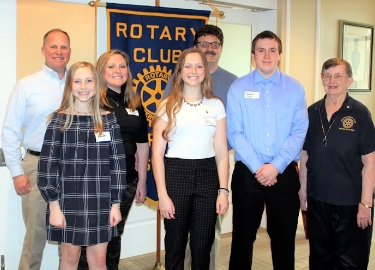 OAHS April Rotary Seniors of the Month