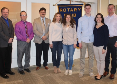 February Rotary Seniors of the Month