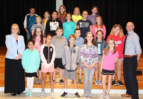 Hopewell September Students of the Month