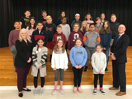 Hopewell School Students of the Month