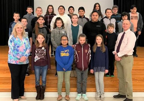 hopewell december students of the month