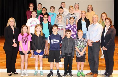 hopewell march students of the month