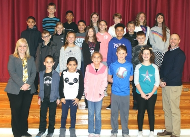 Hopewell October Students of the Month