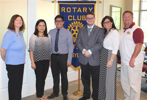 rotary may seniors of the month