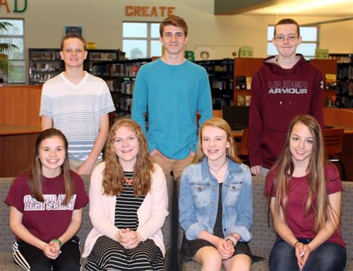 oxford area high school april students of the month