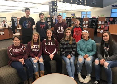 OAHS december students of the month