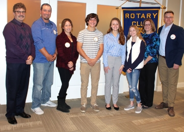 October Rotary Seniors of the Month