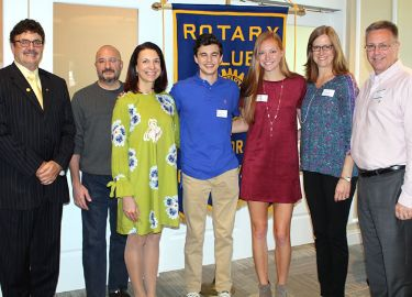 Rotary October Seniors of the Month
