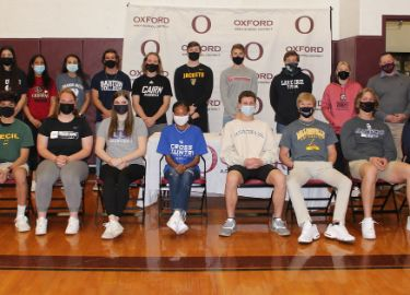 OAHS scholar-athletes sign to play at collegiate level