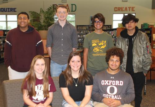 oahs may students of the month