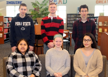 Oxford Area High School March Students of the Month