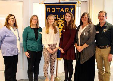 February Rotary Seniiors of the Month