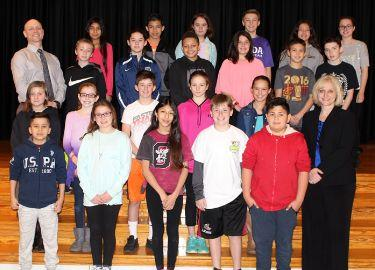Hopewell School February Students of the Month