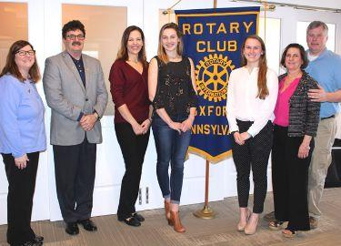 Oxford Rotary Club March Seniors of the Month