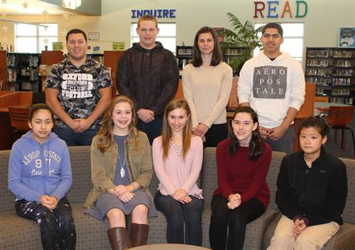 oahs march students of the month